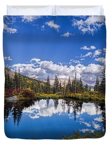 Reflecting Duvet Cover