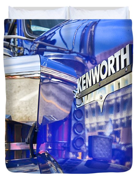 Reflecting On A Kenworth Duvet Cover