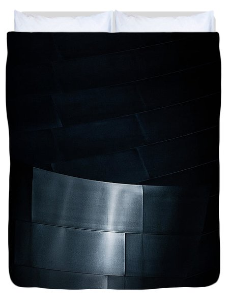 Reflecting On Gehry Duvet Cover