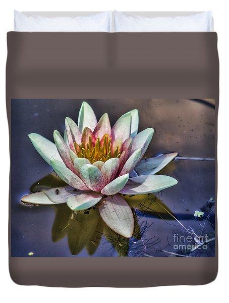 Reflecting Petals Duvet Cover
