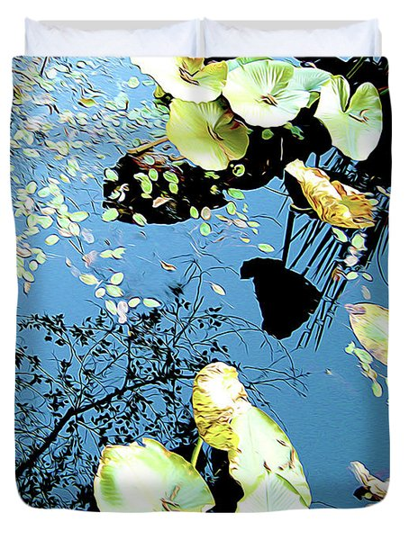Reflecting Pond Duvet Cover