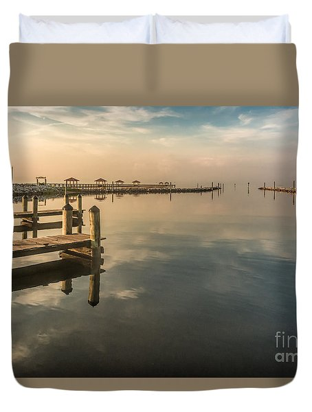 Reflecting Sky Duvet Cover by Brian Wright