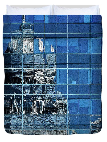Reflection And Refraction Duvet Cover