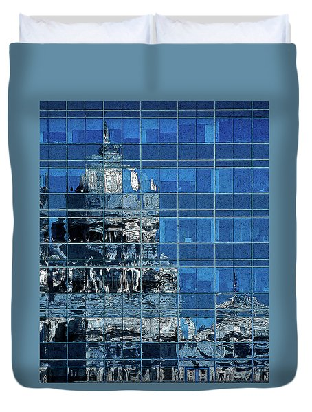 Reflection And Refraction Duvet Cover by Alex Galkin