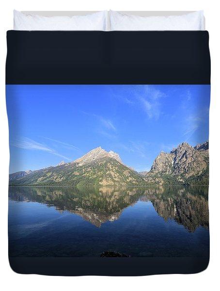 Reflection At Grand Teton National Park Duvet Cover