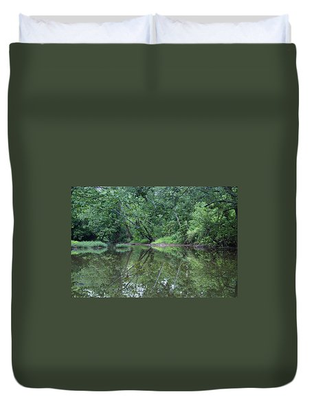 Reflection Duvet Cover by Heidi Poulin