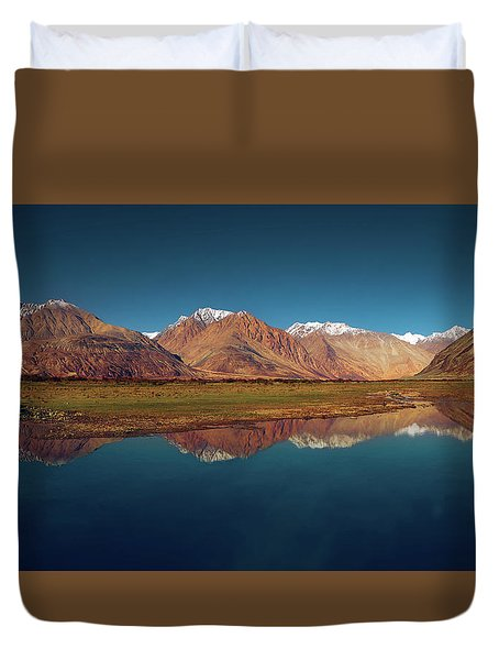 Reflection Duvet Cover by Marji Lang