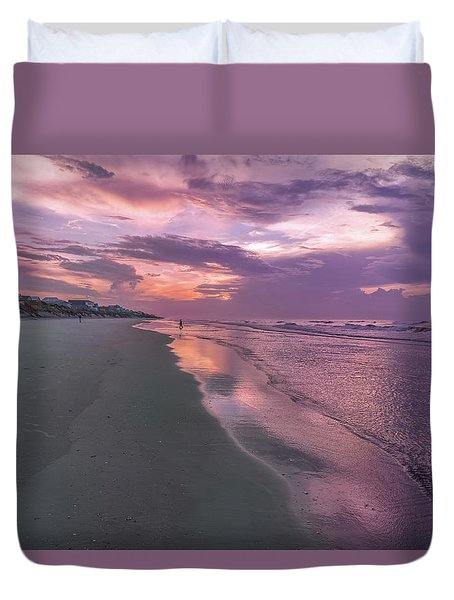 Reflection Of The Dawn Duvet Cover