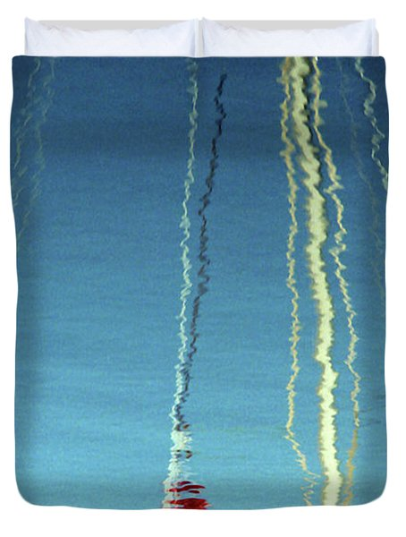 Reflection On Water Duvet Cover