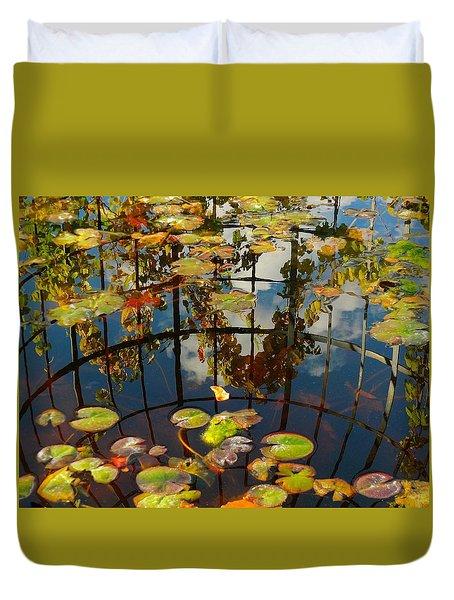 Reflection Pond Duvet Cover