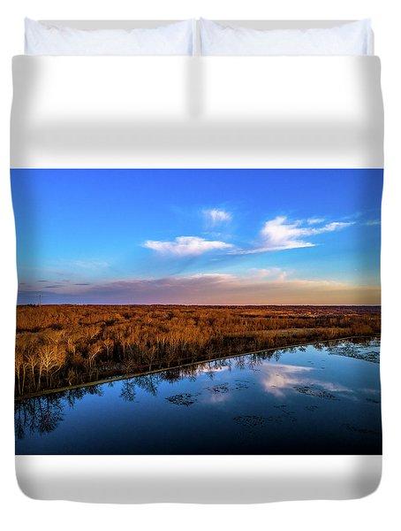 Reflection Pool Duvet Cover