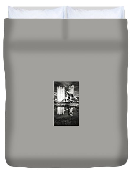 Reflection Puddle Duvet Cover by Dustin Soph