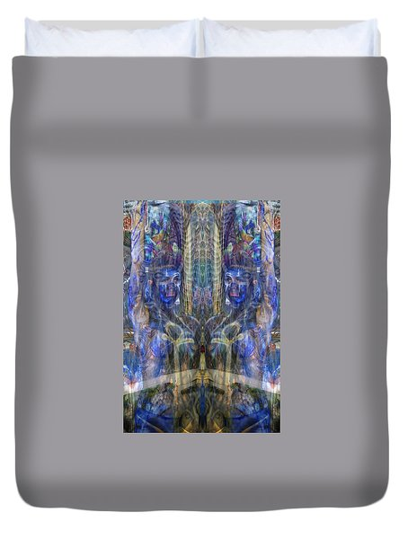 Reflection Refraction Duvet Cover