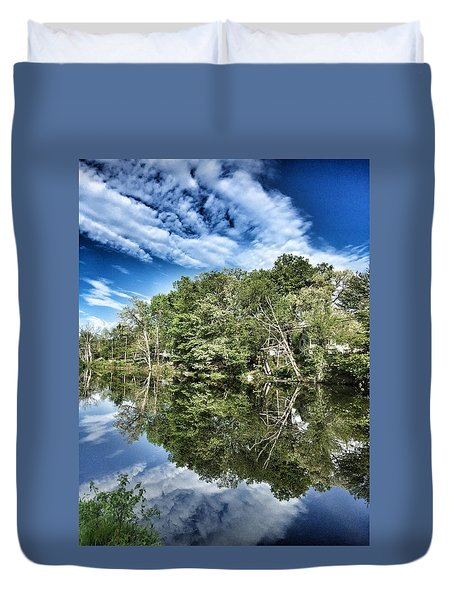 Reflection Time Duvet Cover