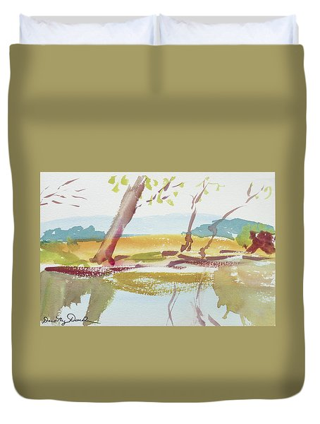 Quiet Stream Duvet Cover