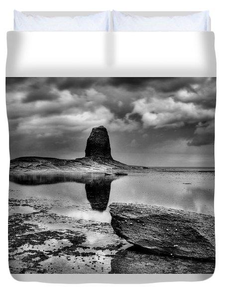 Reflections At Black Nab Duvet Cover