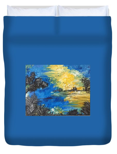 Reflections Duvet Cover by Dayna Lopez