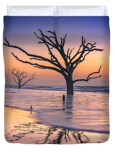 Reflections Erased - Botany Bay Duvet Cover