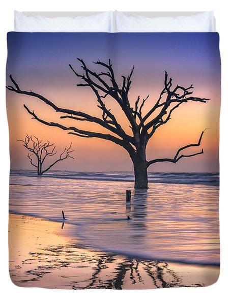 Reflections Erased - Botany Bay Duvet Cover by Rick Berk