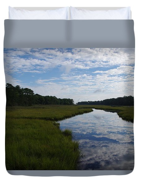 Reflections Duvet Cover by Greg Graham