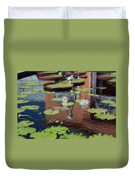 Reflections II Duvet Cover by Suzanne Gaff