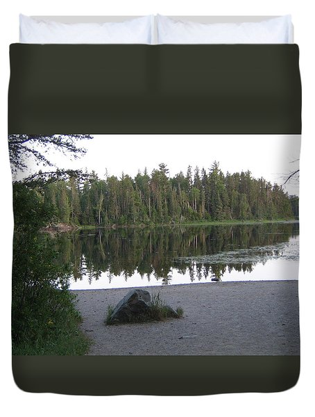 Reflections Lake 1 Duvet Cover