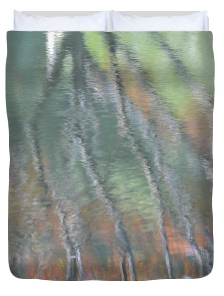 Reflections Duvet Cover by Linda Geiger