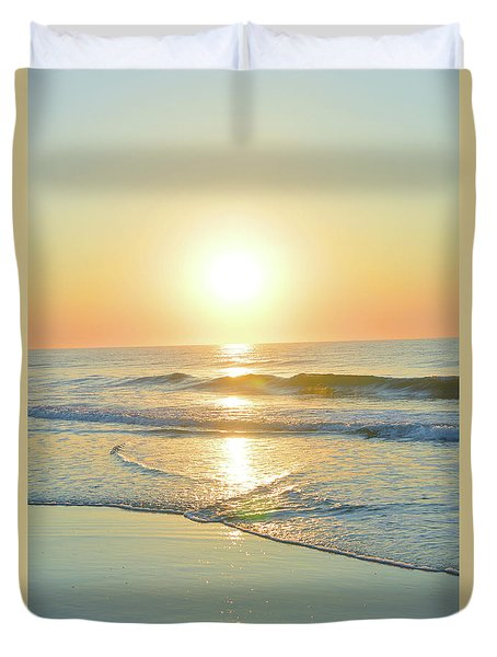 Reflections Meditation Art Duvet Cover by Robyn King