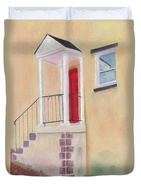 Red Door - Baltimore Duvet Cover