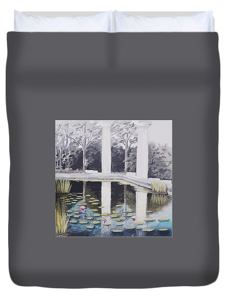 Reflections Of Days Of Future Past Duvet Cover