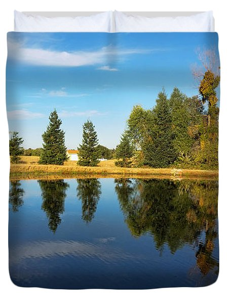 Reflections Of Life Duvet Cover
