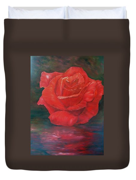 Reflections Of Love Duvet Cover