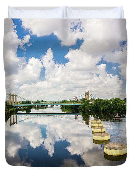 Reflections Of Minneapolis Duvet Cover