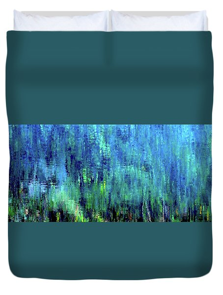 Reflections Of Monet 8155 H_12 Duvet Cover