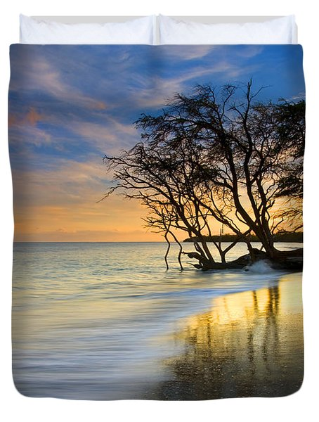 Reflections Of Paradise Duvet Cover