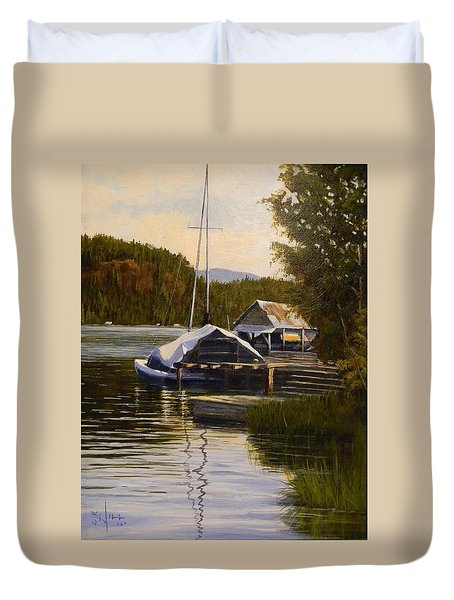 Reflections Of Summer Duvet Cover
