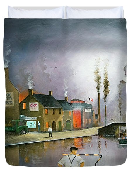 Reflections Of The Black Country Duvet Cover