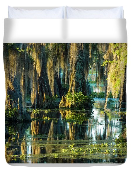 Reflections Of The Times Duvet Cover