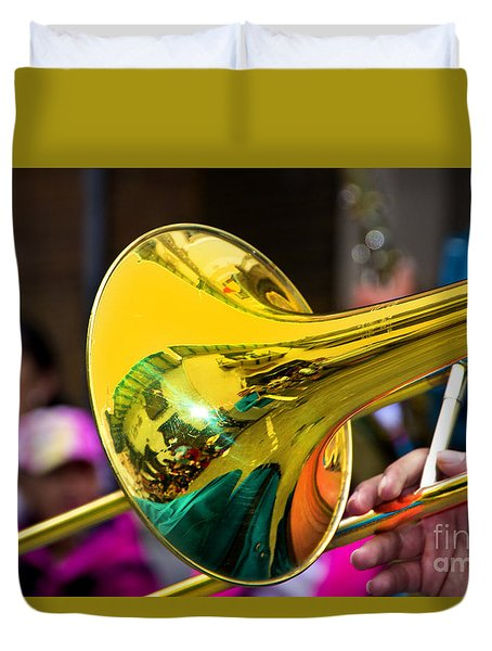 Reflections On Music II Duvet Cover