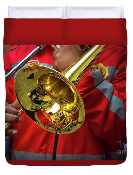 Reflections On Music IIi Duvet Cover