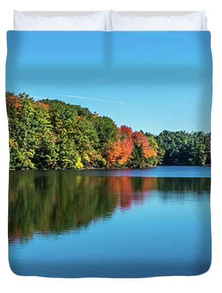 Reflections Pano Duvet Cover