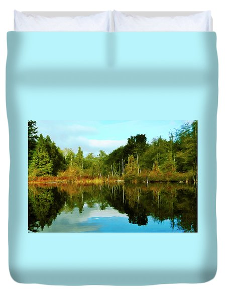 Reflections Duvet Cover by Timothy Hack