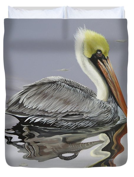 Reflective Perspective Duvet Cover