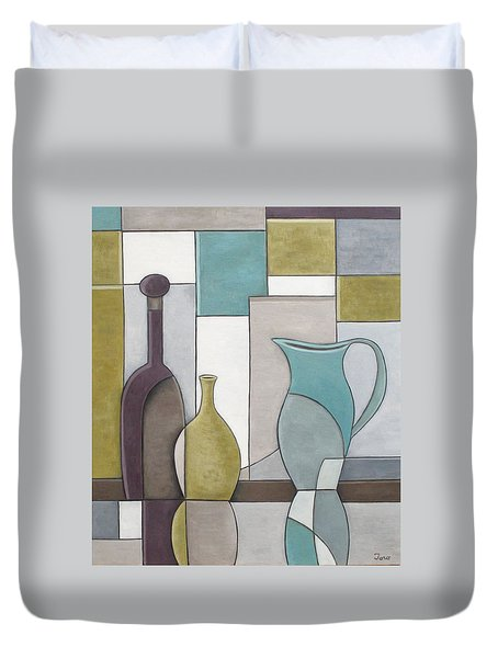 Reflectivity Duvet Cover