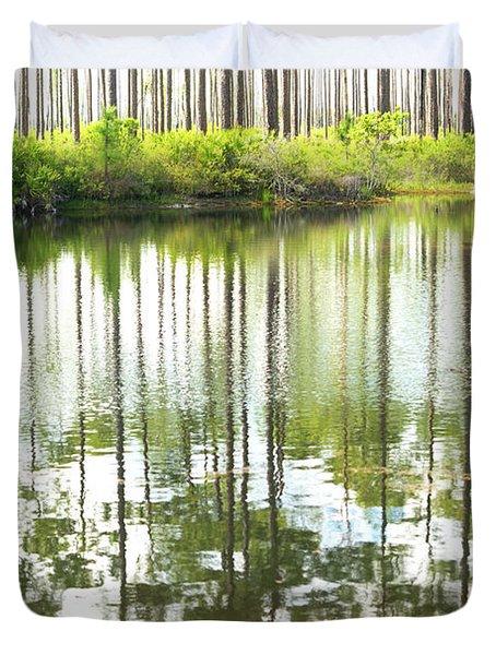 Reflex Lake Duvet Cover