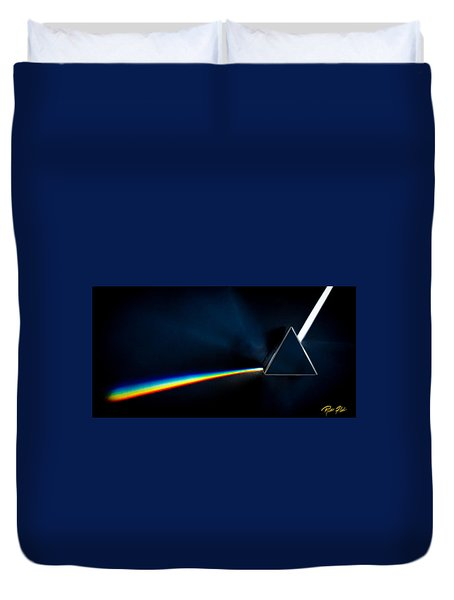 Refraction  Duvet Cover by Rikk Flohr