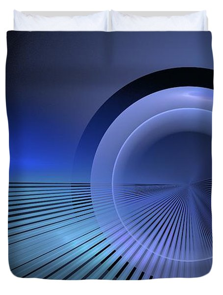 Refractive Index Of Life Duvet Cover