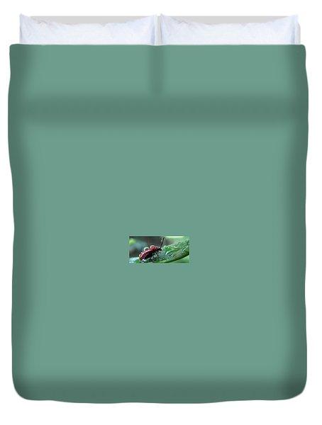 Refreshing Shower_4232 Duvet Cover by Maciek Froncisz