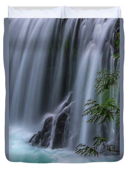 Refreshing Waterfall Duvet Cover