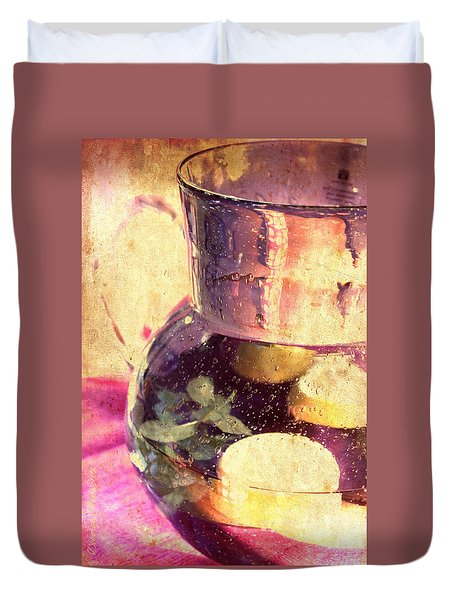 Refreshment Duvet Cover